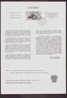 """TAAF, Document De La Poste Du 21 Juin 1982 Port Aux Français Kerguelen """" Chionis """" - Terres Australes Et Antarctiques Françaises (TAAF)"""