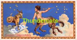 CHROMO CHOCOLAT CACAO SUCHARD SERIE ZODIAC ZODIAQUE ASTROLOGY ASTROMOMY - Suchard