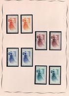 Vignettes  J Carré - Mazelin - Commemorative Labels