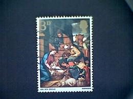 Great Britain, Scott #522, Used (o),1967, Adoration Of The Shepherds, 3d - 1952-.... (Elisabetta II)