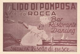 Emilia Romagna - Ferrara - Lido Di Pomposa - Da Rocca Bar Ristorante  - F. Grande - Nuova  - Anni 50 - Molto Bella - Autres Villes
