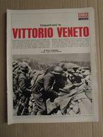 - INSERTI EPOCA / WW I 1915 - 1918 VITTORIO VENETO / 1968 - Livres, BD, Revues