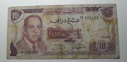 1970 - Maroc - Morocco - 10 DIRHAMS - BB/15 105193 - Hassan II - Maroc