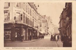 SARREGUEMINES - MOSELLE - (57) - CPA TRÈS ANIMÉE DE 1938 - CLICHE INÉDIT.. - Sarreguemines
