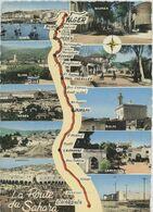 CPSM Algérie - La Route Du Sahara - Alger - Blida - Médéa - Djelfa - Boghari - Ghardaïa - Algiers