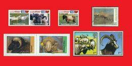 NL 1998 Regio Post / UK 2005 / FR 2017 / Yugoslavia 1981, Farm Rare Breed Sheep Goat / Ferme Races Mouton Chèvre MNH ** - Farm
