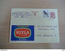 (22.07) BELGIE Chewing Gum Rizla - Ganzsachen