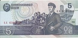 COREE DU NORD 5 WON 1998 UNC P 40 B - Korea, Noord