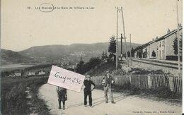 LES BRENETS  Et La Gare De Villers Le Lac - NE Neuchatel