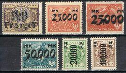 POLOGNE 271/276* - 1919-1939 République