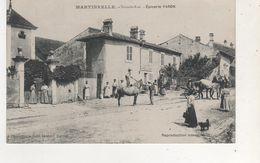 CPA MARTINVELLE GRANDE RUE EPICERIE FARON - France