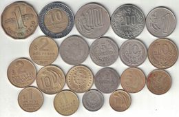 Uruguay Collection Of 20 Coins 1909-2007 All Listed & Different - Uruguay