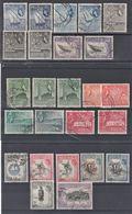 ADEN 1953 FULL SET SG 48/72  VFU CV £ 46 - Aden (1854-1963)
