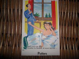 Poitiers,carte à Système (10 Vues) - Poitiers
