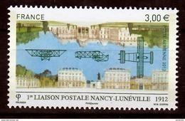 France PA  75 1ère Liaison Postale Nancy Lunéville  Neuf ** TB MNH Sin Charnela Faciale 3 - 1960-.... Nuovi