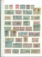 CONGO BELGE : Collection D'oblitérés Et Neufs* Sur 9 Pages. - Stamps