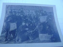 Photo Novembre 1914 Détachement De Télégraphistes (A198, Ww1, Wk 1) - Krieg, Militär