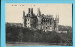 29-----CHATEAUNEUF-DU-FAOU----château De Trêvarez----voir 2 Scans - Châteauneuf-du-Faou