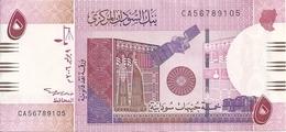 SOUDAN 5 POUNDS 2006 AUNC P 66 - Soedan