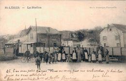St Léger La Station Tram - Saint-Léger