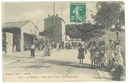 LA BEDOULE - Route De La Ciotat - La Gendarmerie (2334 ASO) - Otros Municipios