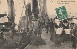 Boulogne Sur Mer Scene De Quai - Boulogne Sur Mer