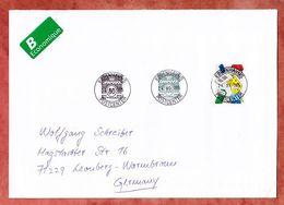 Grossbrief, Lego Sk U.a., Koebenhavns Nach Leonberg 2015 (96304) - Cartas