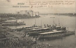 Cartolina - Postcard /  Viaggiata - Sent /  Brindisi, Stazione Torpediniere. - Brindisi