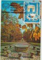 Carte Maximum ROUMANIE N°Yvert  2950 (BRANCUSI - La Table Du Silence) Obl Sp FLAMME Ill - Maximumkaarten