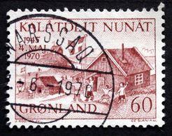 Greenland 1970 Cz.Slania Minr.76 25th Ann. Of The Liberation Of Denmark  (O) ( Lot D 2472 ) - Groenlandia