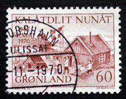 Greenland 1970 Cz.Slania Minr.76 25th Ann. Of The Liberation Of Denmark  (O) ( Lot D 2473 ) - Groenlandia