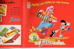 Album Chromo - 011 - Deux ALBUMS - TOBLER-COLOR Peter Pan Et PINOCCHIO - Neuf Et Vide D'images - Année ??1950/60?? - Zonder Classificatie