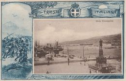 Cartolina - Postcard /  Viaggiata - Sent /  Trieste Italiana - Molo Giuseppina. - Trieste