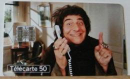 FR263 - FRANCIA 50 UNITA - TELEPHONE ET CINEMA - LE COULOR DU TEMPS  - SCADENZA 02/98  N° C82021547 - 1998