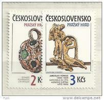 1986 MNH  Tschechoslowalei, Postfris** - Czechoslovakia