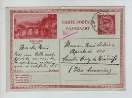435PR/ Entier CP Illustrée 14-6 C.Uccle 11/4/1931> Santa Cruz De Ténérife C.d'arrivée - Tarjetas Ilustradas