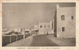 Cartolina - Postcard /  Viaggiata - Sent /  Somalia, Mogadiscio - Tratto Del Lungomare - Somalia