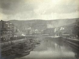 ESPAÑA - BILBAO, Vistas #2/8 - Fotografía 11x8cm - Archivo Théodore LHUILLIER - 1907 - Vizcaya (Bilbao)