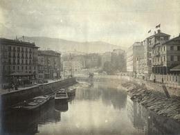 ESPAÑA - BILBAO, Vistas #4/8 - Fotografía 11x8cm - Archivo Théodore LHUILLIER - 1907 - Vizcaya (Bilbao)