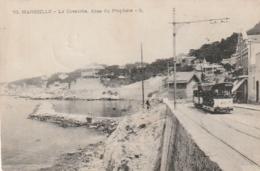 ***  13  ***  MARSEILLE La Corniche Le Tram  - TTB Cachet 101 Eime Régiment - Altri