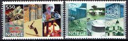 NORWAY  # FROM 2002 STAMPWORLD 1441-42 - Norwegen
