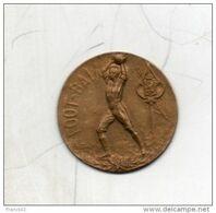Médaille De Football. Uniface. Diam 26mm - Italie