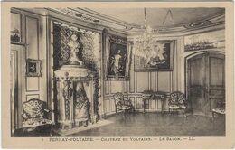 01 Fernay-voltaire Chateau De Voltaire Le Salon - Ferney-Voltaire