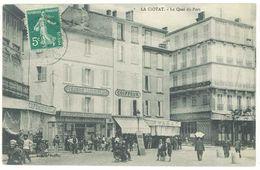 LA CIOTAT - Le Quai Du Port - Le Petit Marseillais - Coiffeur - Tabac - Café Du XX° Siècle - Hotel   (2346 ASO) - La Ciotat