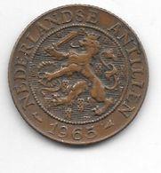*netherlands Antilles 2,5 Cent  1965 Fish   Km 5   Xf - Antillen (Niederländische)