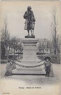 01 Fernay-voltaire   Statue De Voltaire - Ferney-Voltaire