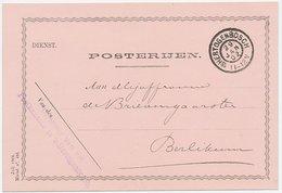 Dienst Posterijen S Hertogenbosch - Berlikum 1902 - Periode 1891-1948 (Wilhelmina)