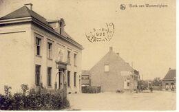 Wommelghem Wommelgem Bank ( Met Straatzicht) 1925 - Wommelgem