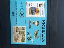 Nicaragua 1980 Olympiad Moscow MNH** - Zomer 1980: Moskou