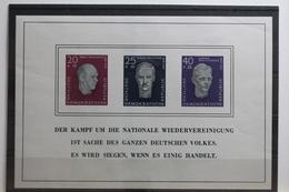 DDR Block 15 Mit 606-608 ** Postfrisch #TZ956 - [6] Democratic Republic